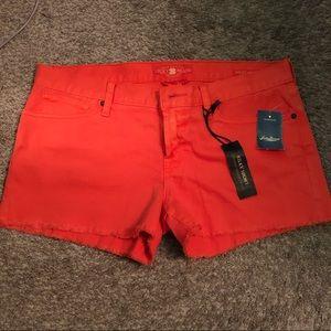 Orange Jean Lucky Brand Shorts